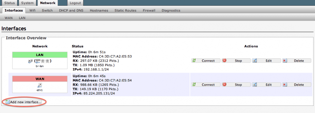 Connect to vpn (pptp) through OpenWrt – luvis se