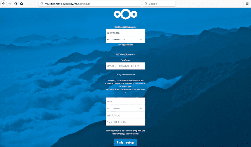 Install Nextcloud on Synology NAS Diskstation DSM 6 – luvis se